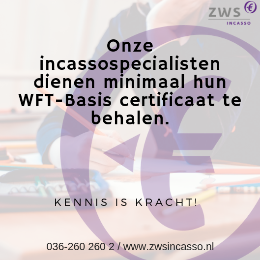 ZWS Incasso kennis is kracht incassospecialisten