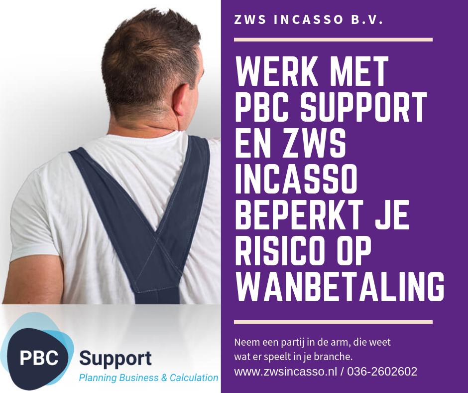 ZWS Incasso, PBC Support 2