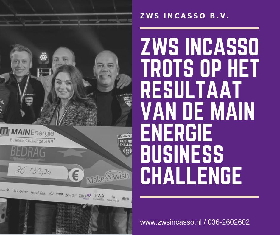 ZWS Incasso, resultaat business challenge