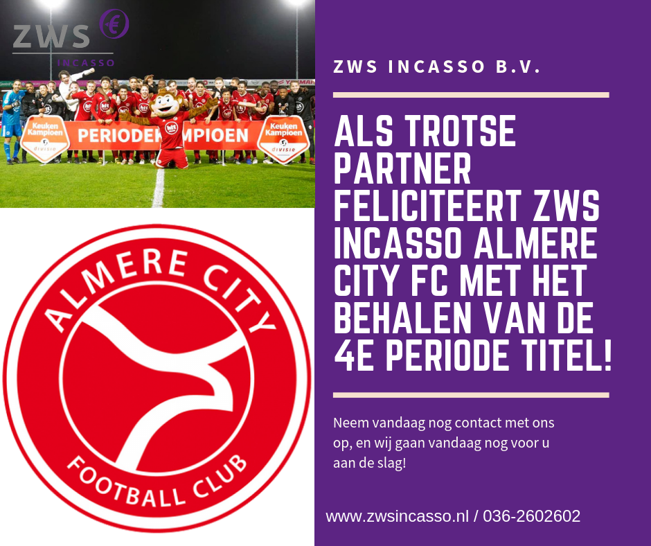 ZWS Incasso_almere City periode titel