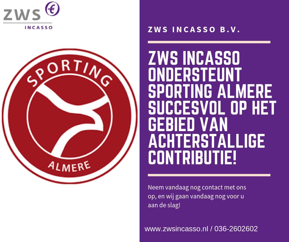 ZWS Incasso_Sporting Almere