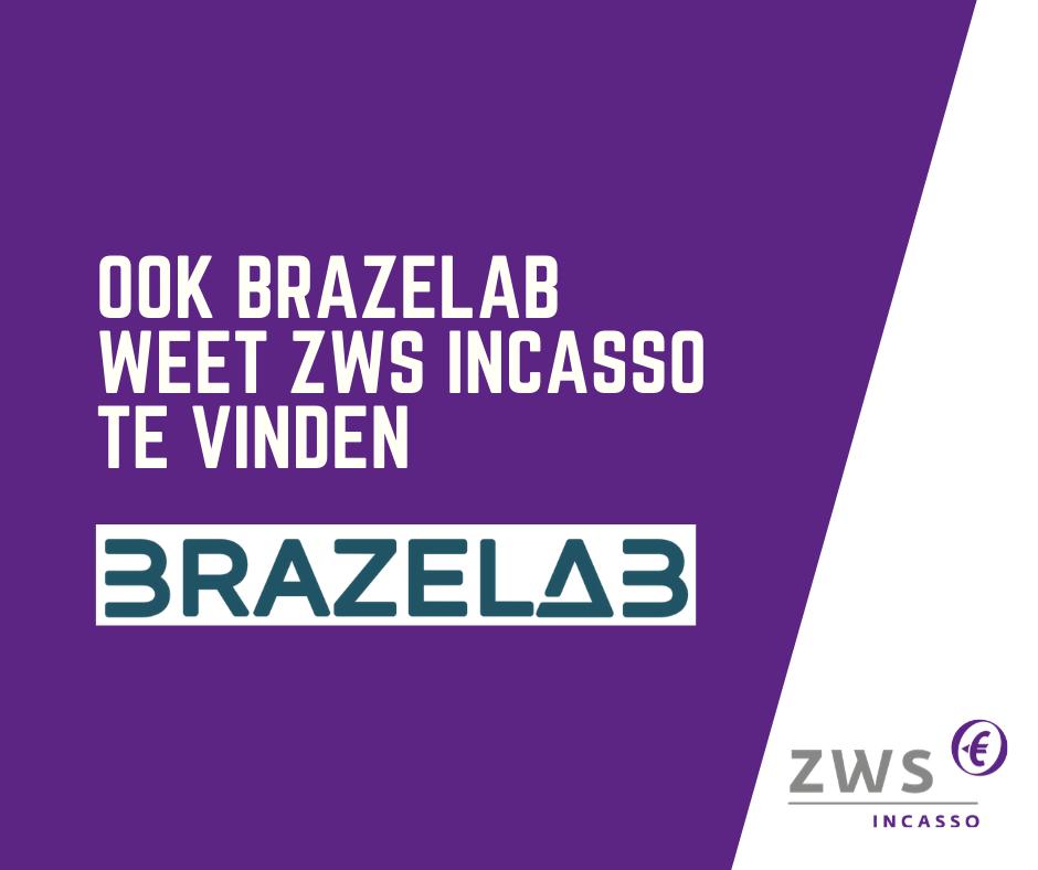 ZWS Incasso incassobureau voor Brazelab