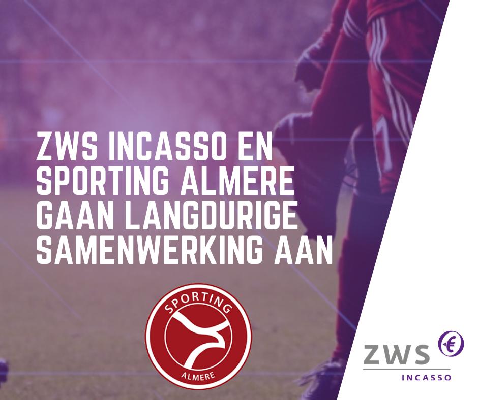 ZWS Incasso_langdurige samenwerking sporting almere